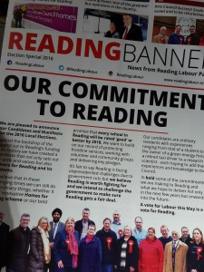 The new Reading Banner
